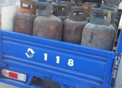 ضبط أسطوانات غاز ناقصة الوزن في مصنع الغاز السائل بالبحيرة