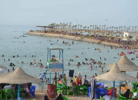 الفنادق والجزر والشواطئ تستقبل المواطنين للاحتفال بالعيد بالبحر الأحمر