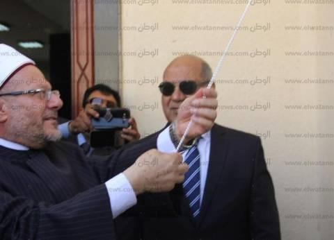بالصور  مفتى الجمهورية يفتتح مسجد جامعة كفر الشيخ