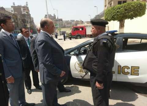 مدير أمن القاهرة يتفقد الخدمات الأمنية