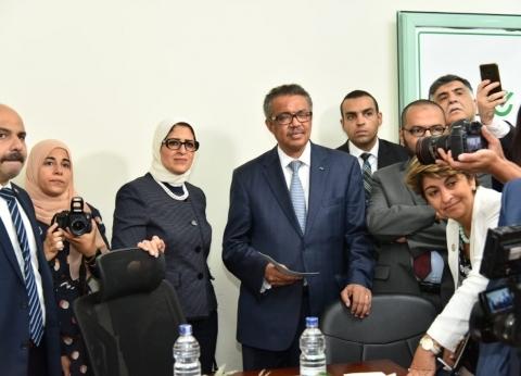 مدير quotالصحة العالميةquot: سعيد بزيارتى لحملة 100 مليون صحة.. برافو مصر