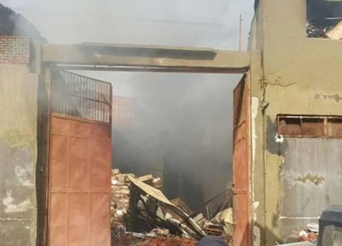 6 مصابين في حريق مصنع الطباعة والتغليف بالفيوم