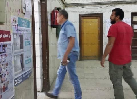 """وفد من """"الوطنية للانتخابات"""" يتفقد لجان الدقي لمتابعة عملية الاقتراع"""