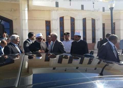 وصول شيخ الأزهر إلى شرم الشيخ للمشاركة في افتتاح منتدى شباب العالم