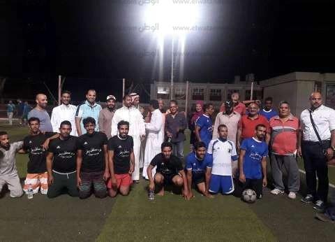 """انطلاق المرحلة الثانية من """"دوري مستقبل وطن لكرة القدم"""" بجنوب سيناء"""