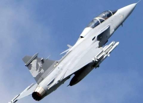 تحطم طائرة حربية بسبب طائر شارد