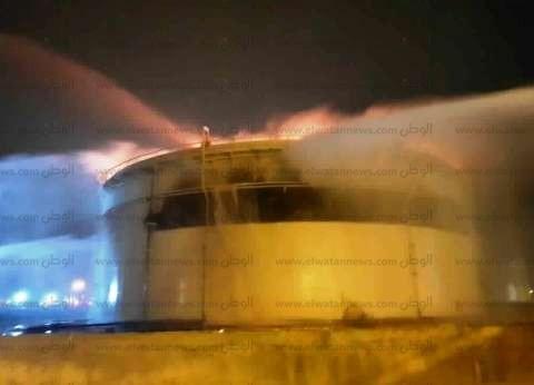 """""""الإسكندرية للبترول"""": الأحوال الجوية سبب إندلاع حريق أحد المستودعات"""