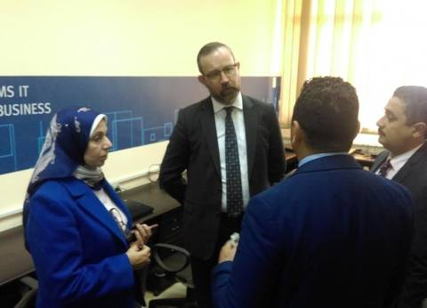 بالصور| السفير الأيرلندي بالقاهرة يزور جامعة الفيوم