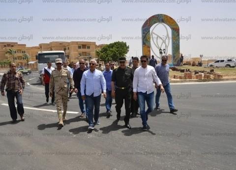 الغرابلي يتفقد أعمال تطوير مرسى مطروح استعدادًا للموسم السياحي
