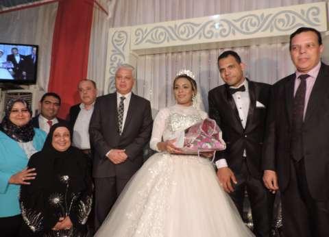 بقرار من وزير الداخلية.. قصة زفاف يتيمين بحضور مدير أمن البحيرة