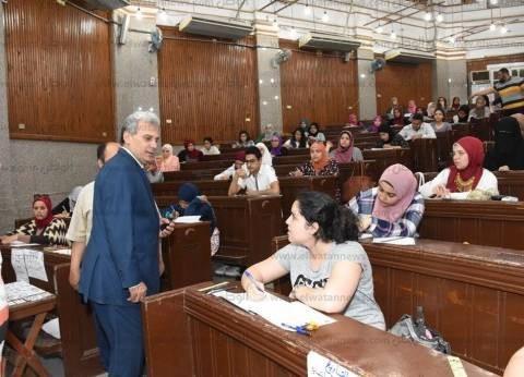 إخلاء المدينة الجامعية بجامعة القاهرة 24 يونيو الجاري