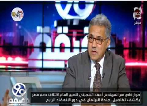 """أمين """"دعم مصر"""": جلسات استماع قانون الإدارة المحلية كانت """"في الهوا"""""""