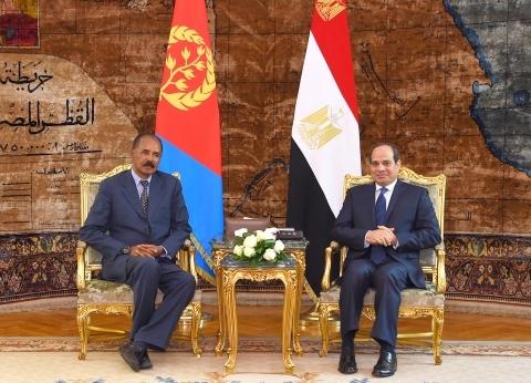 خبيرة شؤون أفريقية: أمن البحر الأحمر محور لقاء الرئيس ونظيره الإريتري