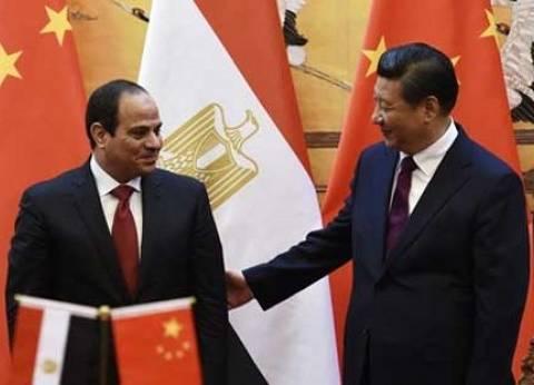 مبعوث الرئيس الصيني يهنئ السيسي بافتتاح قناة السويس الجديدة
