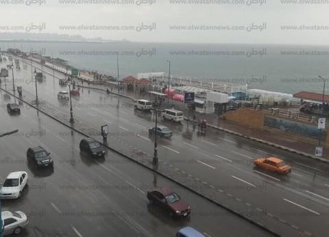 طوارئ في المنيا بعد هطول أمطار في عدة مناطق متفرقة