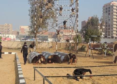 بالصور| مدير أمن المنوفية يفتتح أعمال تطوير مركز تدريب الشرطة