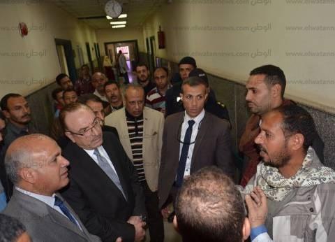 شريف حبيب: تقارير يومية لمتابعة نواقص ومتطلبات مستشفيات بني سويف