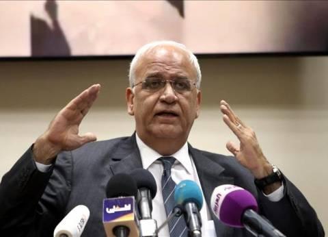 عريقات مهنئا السيسي: كان الله في عونك.. الأمانة ثقيلة
