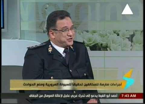 """""""مرور الجيزة"""" توضح الطرق البديلة بعد غلق شارع البطل أحمد عبدالعزيز"""
