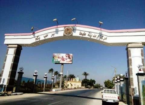 تجميل مدخل مدينة طهطا الجنوبي في سوهاج