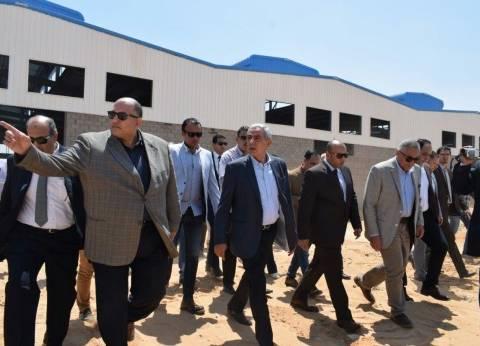 قابيل: طرح 2 مليون متر أراضي صناعية جديدة بمدينة السادات الشهر المقبل