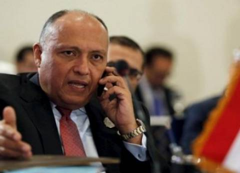 وزيرا الخارجية الفرنسي والمصري يتبادلان التعازي في حادث الطائرة المصرية