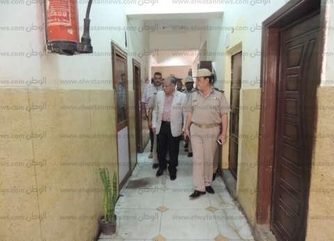 مدير أمن قنا يتابع انتظام الخدمات بمركز شرطة المدينة
