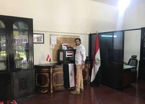بالصور| المصريون في بنجلادش يدلون بأصواتهم في الانتخابات الرئاسية