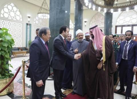 تفاصيل افتتاح السيسي وولي العهد أعمال ترميم الجامع الأزهر