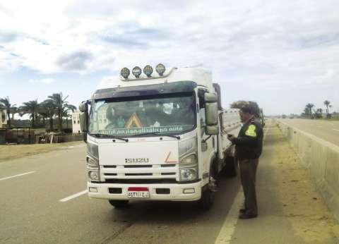 الأجهزة الأمنية تضبط 581 مخالفة مرورية في سوهاج