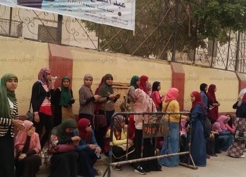 تزايد أعداد الناخبين في لجان أبو تيج بأسيوط