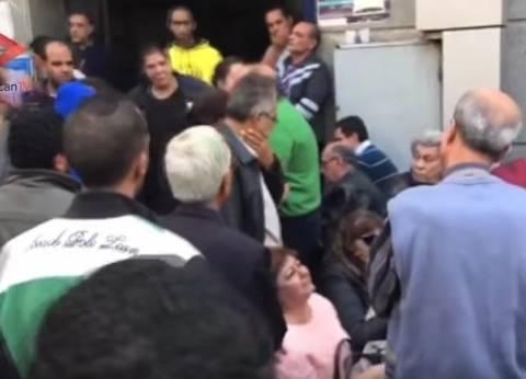 """أهالي مصابي الكنيسة البطرسية من مستشفى الدمرداش: """"مش هيفرقونا"""""""