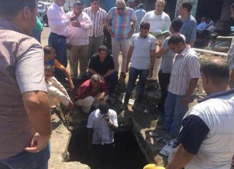 """انقطاع المياه بمناطق في بني سويف بسبب كسر """"محبس"""".. وتعود خلال ساعتين"""