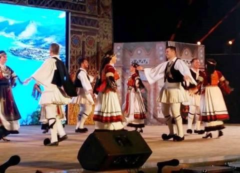 فرقة سوهاج للفنون الشعبية تشارك بعروضها في مهرجان أسوان