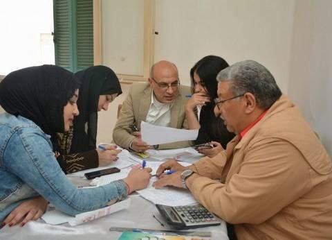 """""""معاك من أجل مصر"""" بالغربية: زيادة إقبال الناخبين باللجان"""