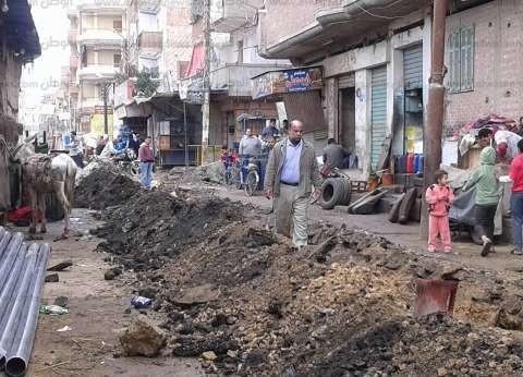 بالصور  حملة نظافة مكبرة بشوارع فوه في كفر الشيخ