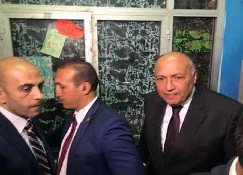 صور| وزير الخارجية لـ الوطن: مشاركة المصريين بالاستفتاء ترسم المستقبل