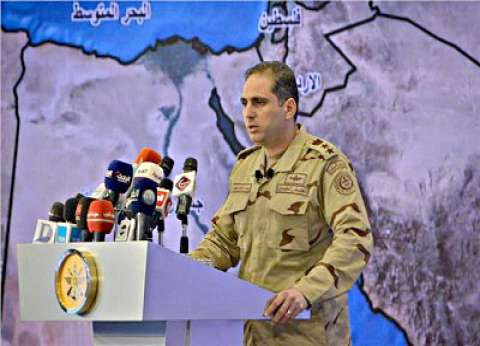 المتحدث العسكري يكشف عن المهام الموكلة لعناصر تأمين مقار الاستفتاء