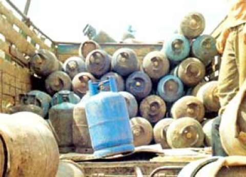 شرطة التموين تضبط 26 قضية أسطوانات بوتاجاز