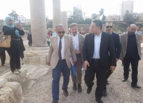 """""""العناني"""" والقائم بأعمال السفير الأمريكي يزوران قبة الإمام الشافعي غدا"""
