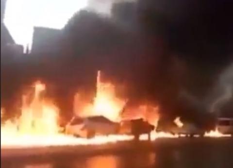 عاجل| الحماية المدنية تحاول السيطرة على حريق بقرية في الوادي الجديد