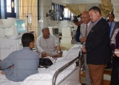 محافظ بني سويف يوجه بإنشاء طابق ثالث للغسيل الكلوي بمستشفى الحميات