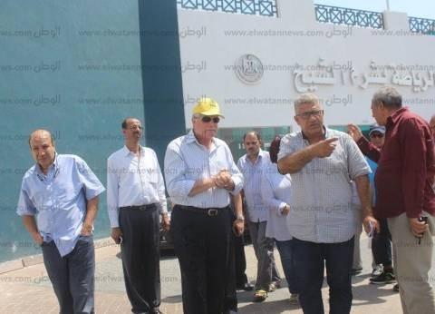 محافظ جنوب سيناء يتفقد العمل بالمدينة الشبابية استعدادا لافتتاحها
