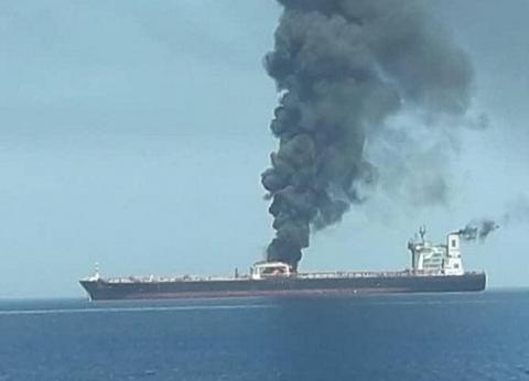 عاجل| الجيش الأمريكي ينشر فيديو لقارب إيراني ينزع لغما من ناقلة نفط في الخليج