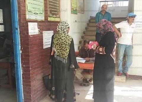 اللجان الانتخابية بدائرة الوراق وأوسيم تفتح في موعدها.. والإقبال ضعيف