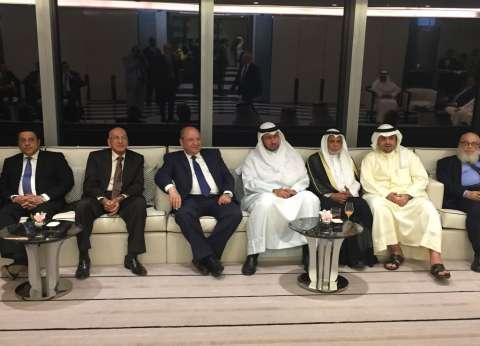 نائب رئيس الوزراء الكويتي يستقبل وفد مجلس الدولة برئاسة أبو العزم
