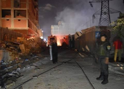 السيطرة على حريق في منزل بمدينة بني سويف