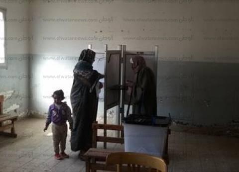 إغلاق لجان الاقتراع بدائرة الواسطى في بني سويف بنسبة إقبال 15%