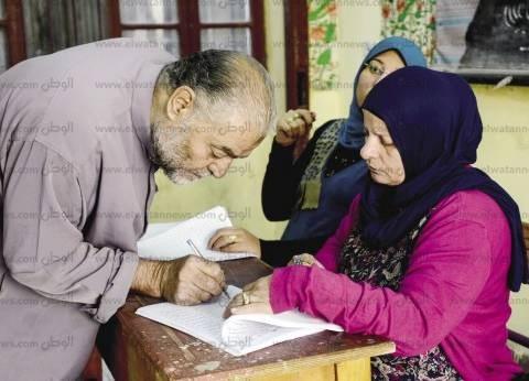 مشاجرة بين أنصار المرشحين لتوجيه الناخبين بدائرة باب الشعرية