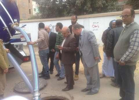 """""""الصرف الصحي"""": إجراء أعمال تجهيز لأحدث سيارة سحب مياه بالإسماعيلية"""